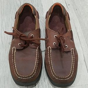 Sperry Boy's Lenyard Boat Shoes - 2.5